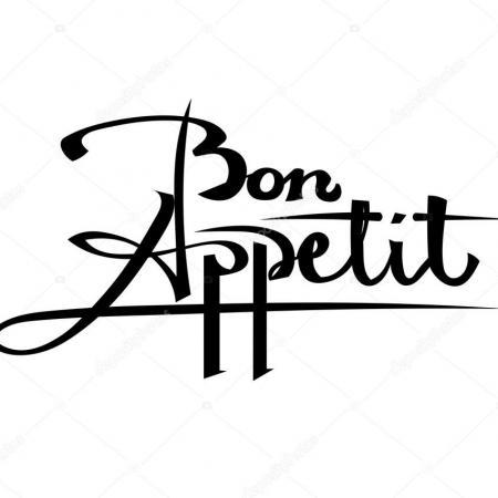 Depositphotos 119292172 stock illustration bon appetit black lettering on