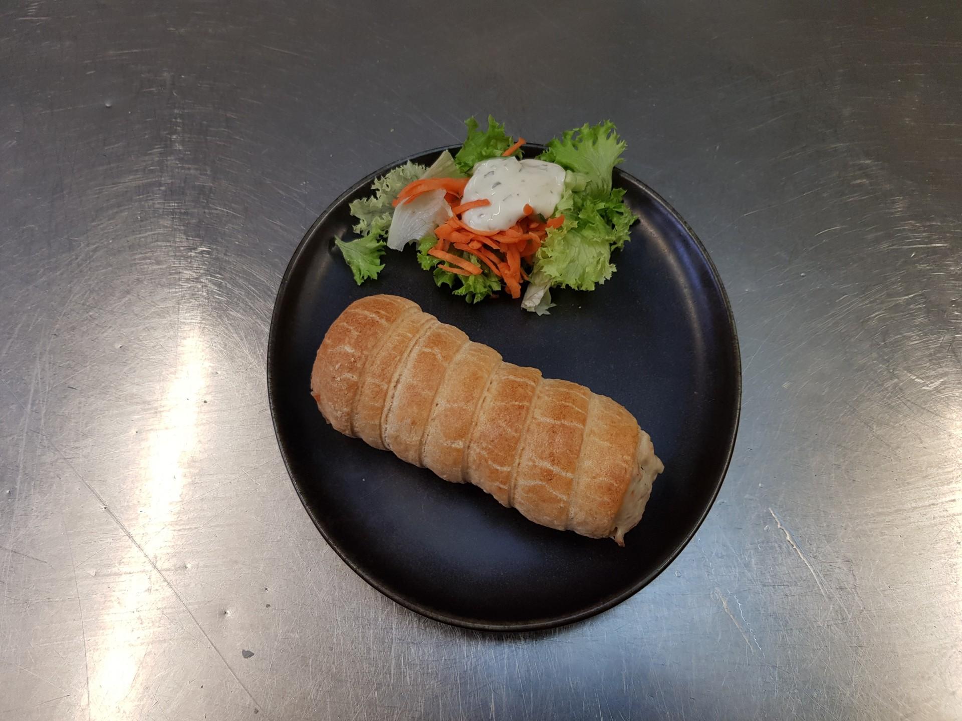 Roule jambon fume et champignon